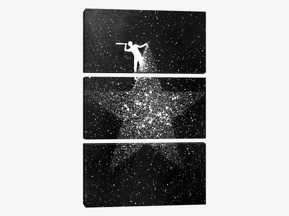 Star Gazing 3-piece Canvas Artwork