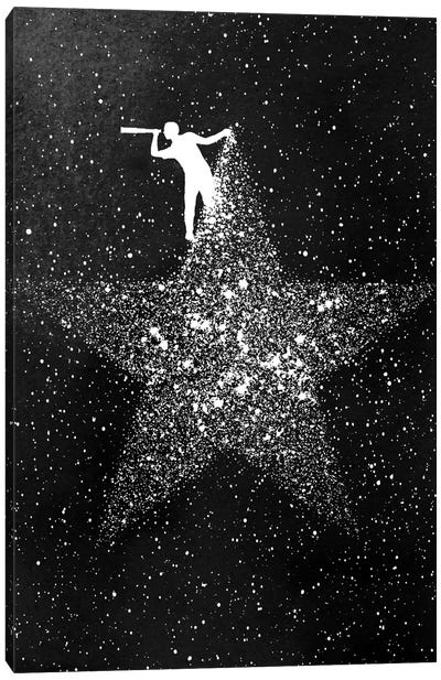 Star Gazing Canvas Art Print