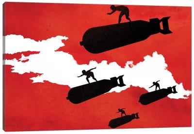 Surf's Up Canvas Print #DOB54