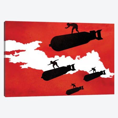 Surf's Up Canvas Print #DOB54} by Rob Dobi Canvas Print