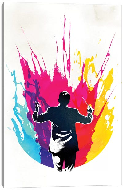 Symphony Canvas Art Print