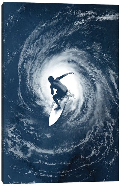 Category 5 Canvas Art Print