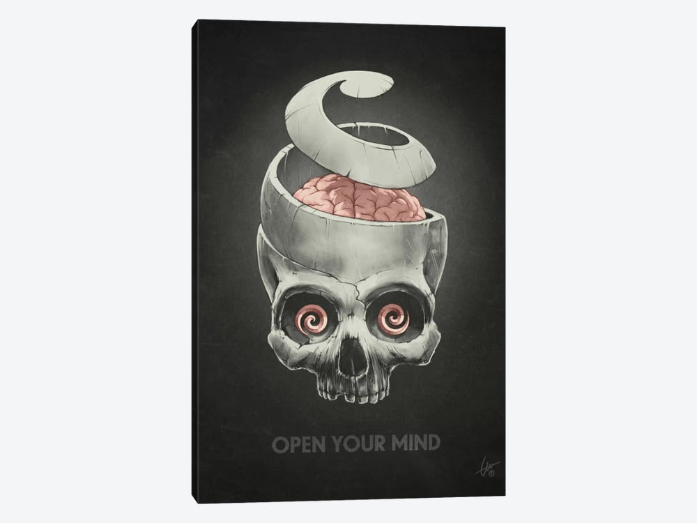Open Your Mind 1-piece Canvas Print