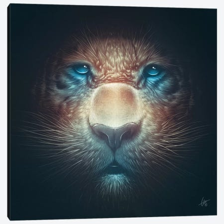 Red Tiger Canvas Print #DOC19} by Dr. Lukas Brezak Canvas Print