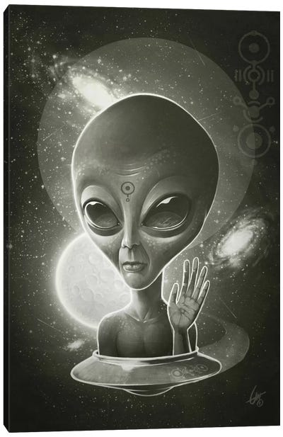 Alien II Canvas Art Print