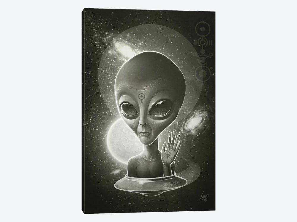 Alien II by Dr. Lukas Brezak 1-piece Art Print