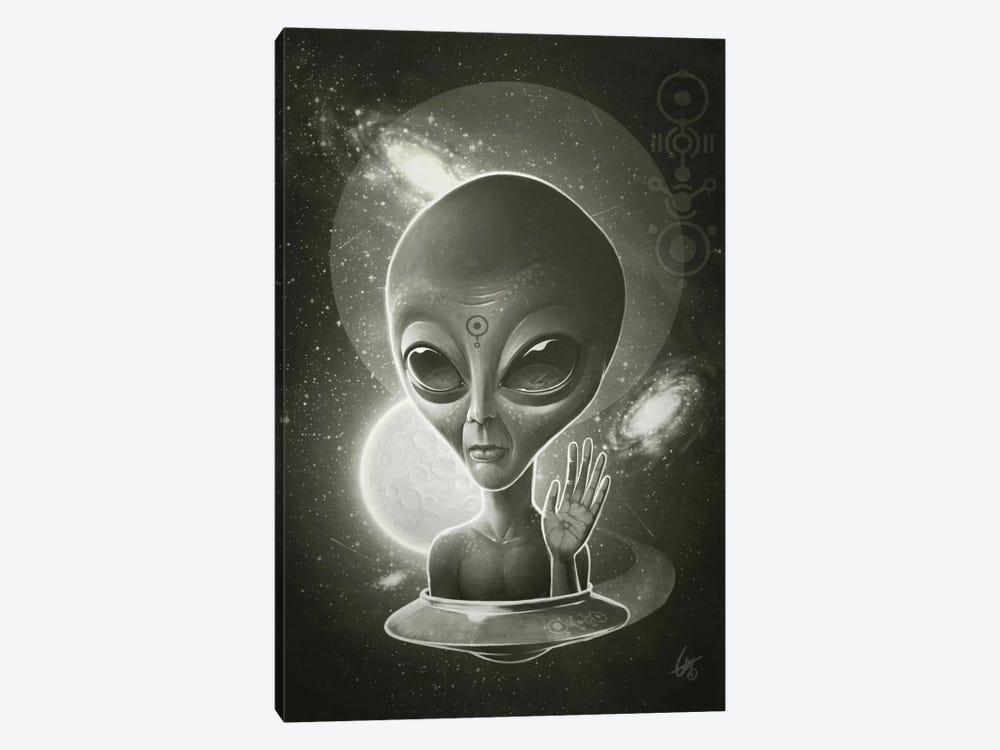 Alien II by Dr. Lukas Brezak 1-piece Art Print