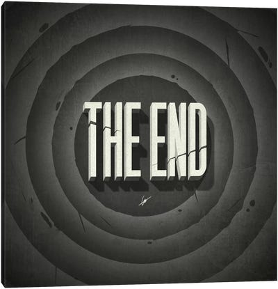 The End Canvas Art Print