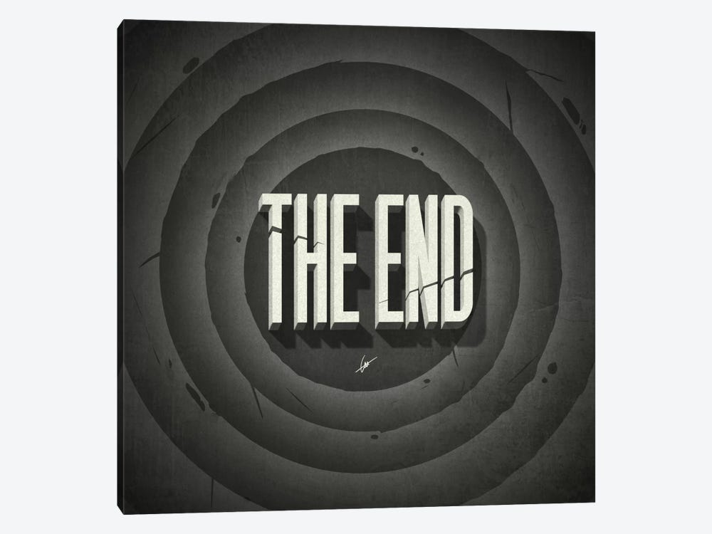 The End 1-piece Art Print