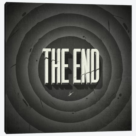 The End Canvas Print #DOC23} by Dr. Lukas Brezak Canvas Artwork