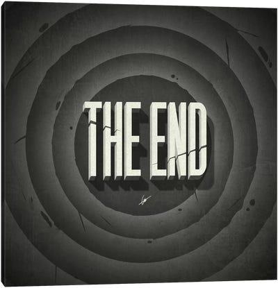 The End Canvas Art Print