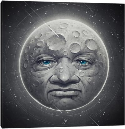 The Moon Canvas Art Print