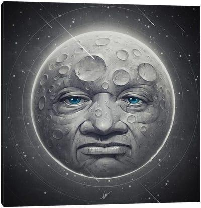The Moon Canvas Art Print