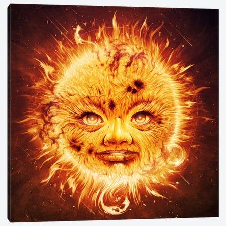 The Sun Canvas Print #DOC27} by Dr. Lukas Brezak Canvas Art Print
