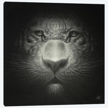 Tiger Canvas Print #DOC29} by Dr. Lukas Brezak Canvas Art