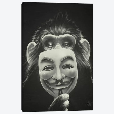 Anonymous Canvas Print #DOC2} by Dr. Lukas Brezak Canvas Artwork