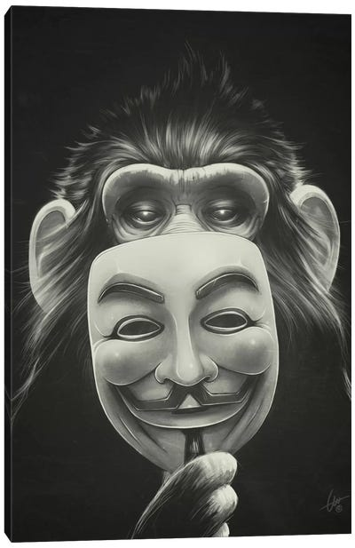 Anonymous Canvas Art Print