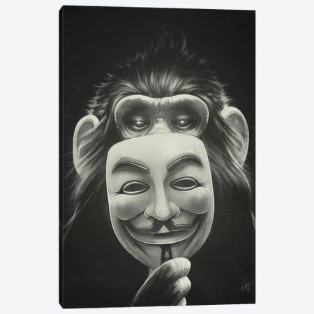 Anonymous Canvas Print #DOC2} by Dr. Lukas Brezak Canvas Artwork