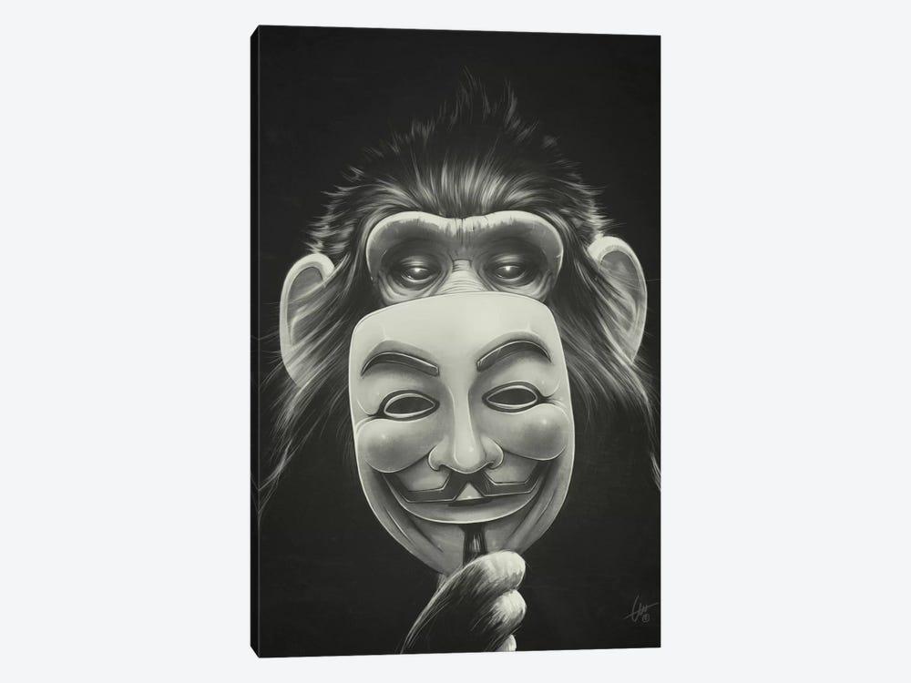 Anonymous by Dr. Lukas Brezak 1-piece Canvas Art
