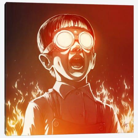 FIREEE! Canvas Print #DOC5} by Dr. Lukas Brezak Canvas Art Print