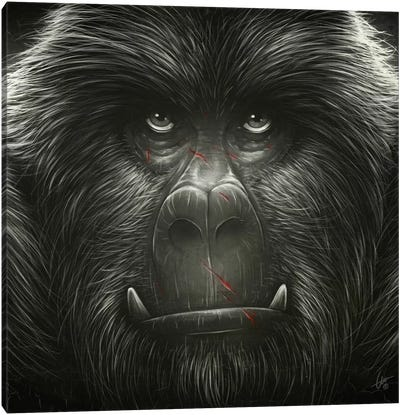 Kong! Canvas Art Print