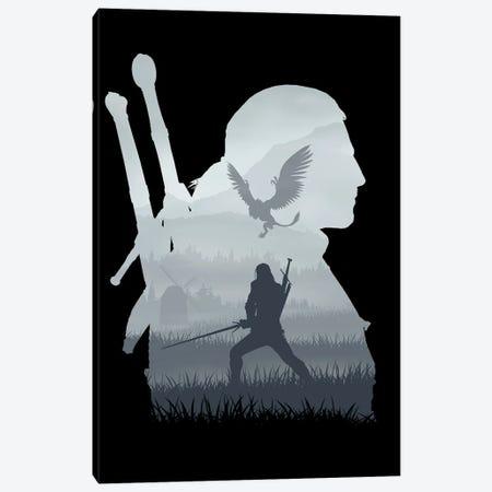 The Royal Griffin Canvas Print #DOI113} by Denis Orio Ibañez Canvas Art