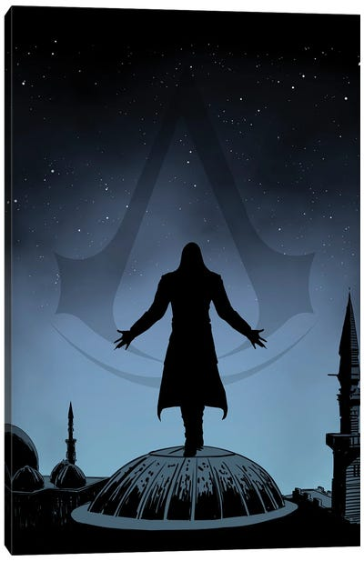 Assassin Canvas Art Print