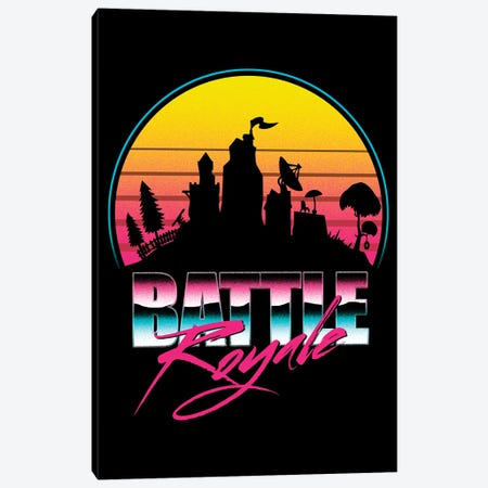 Battle Royale Canvas Print #DOI116} by Denis Orio Ibañez Art Print