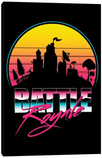 Battle Royale Canvas Art Print