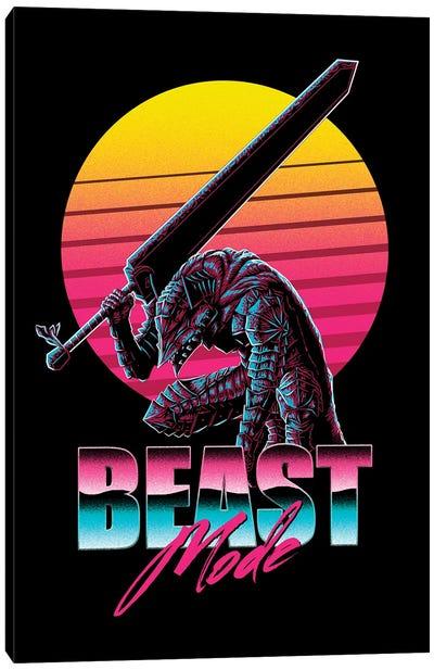 Beast Mode Canvas Art Print