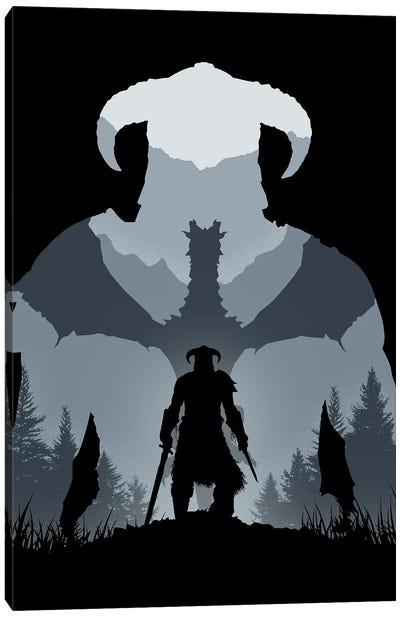 Dragonborn Canvas Art Print