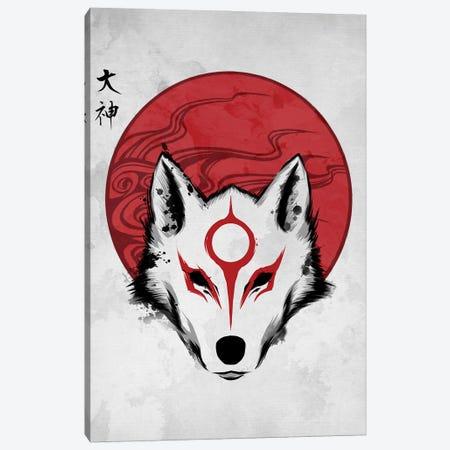 Red Sun God Canvas Print #DOI143} by Denis Orio Ibañez Canvas Print