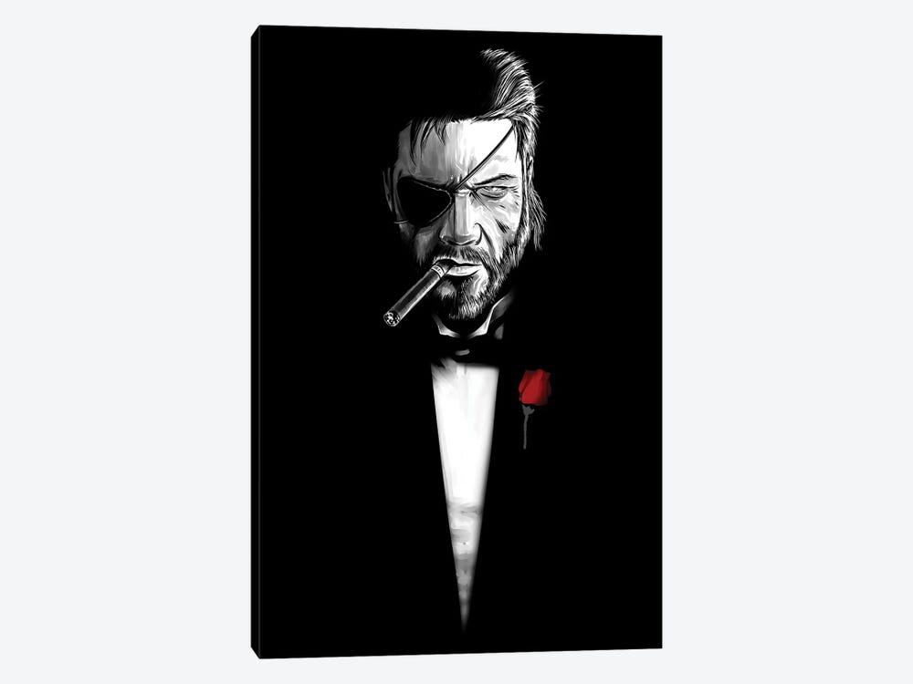 The Boss Father by Denis Orio Ibañez 1-piece Canvas Art Print