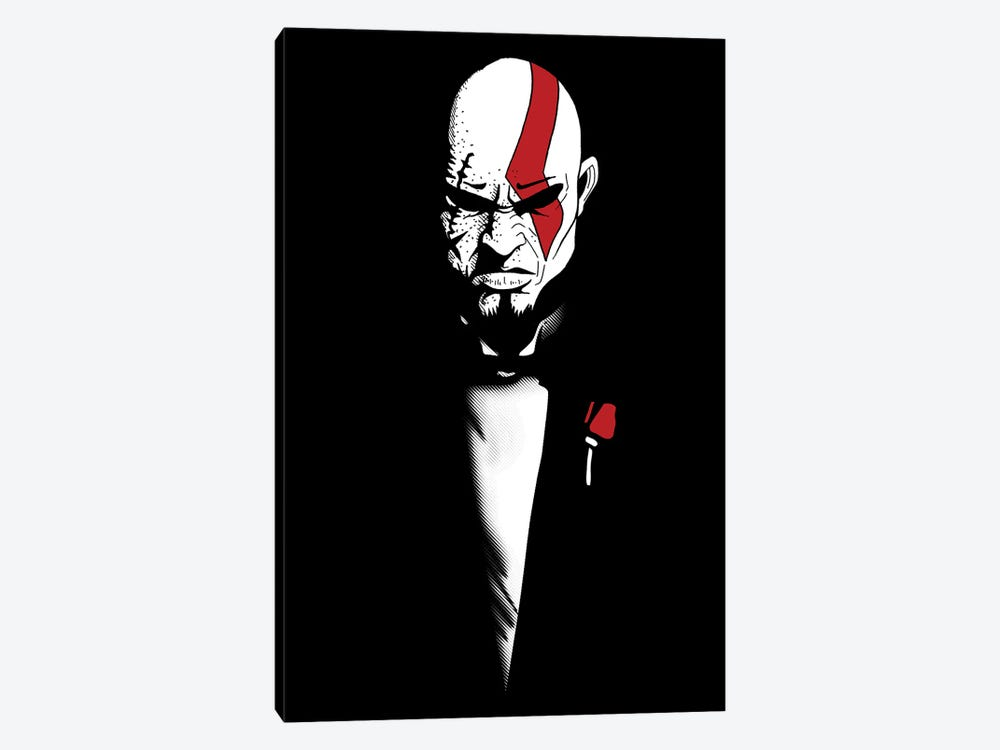 The God Of War And Death by Denis Orio Ibañez 1-piece Canvas Art