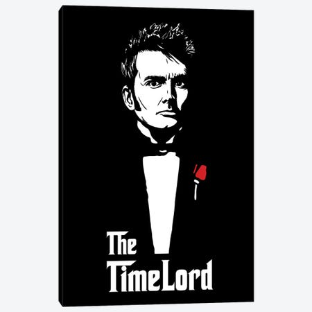 The Timelord Canvas Print #DOI152} by Denis Orio Ibañez Canvas Art