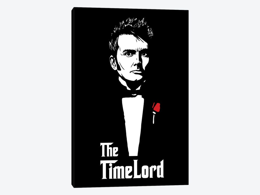 The Timelord by Denis Orio Ibañez 1-piece Canvas Artwork