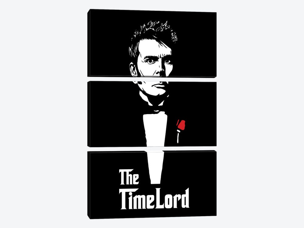 The Timelord by Denis Orio Ibañez 3-piece Canvas Artwork