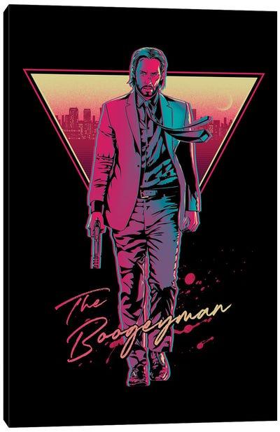 The Boogeyman Canvas Art Print