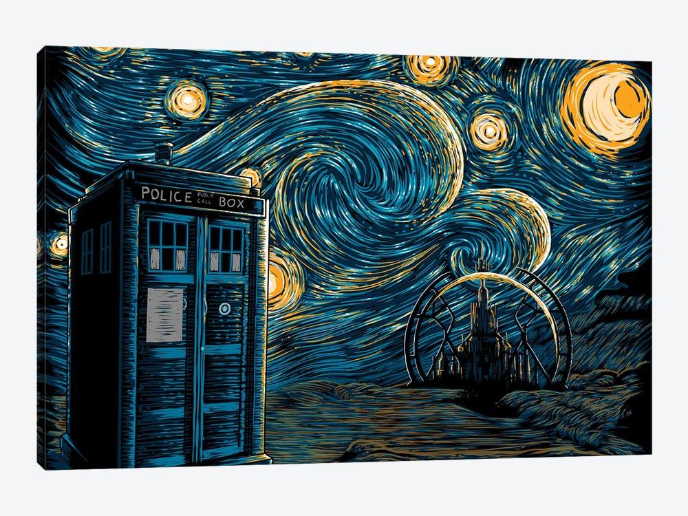 Starry Gallifrey by Denis Orio Ibañez 1-piece Canvas Artwork