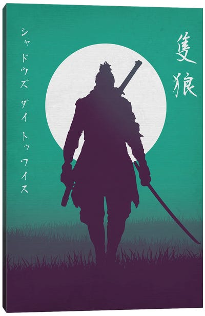 Wolf The Shinobi Canvas Art Print