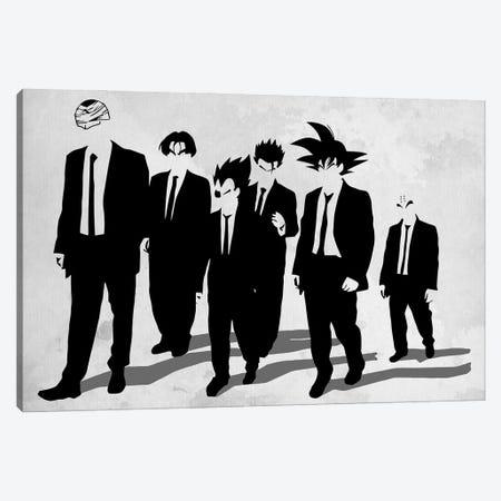 Z Dogs Canvas Print #DOI17} by Denis Orio Ibañez Canvas Wall Art