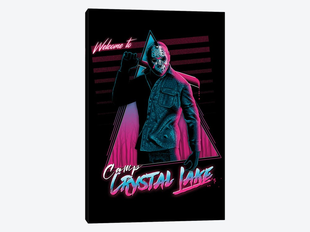 Welcome To Crystal Lake by Denis Orio Ibañez 1-piece Canvas Print