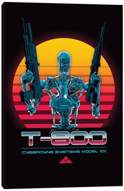 T-800 Series Canvas Art Print