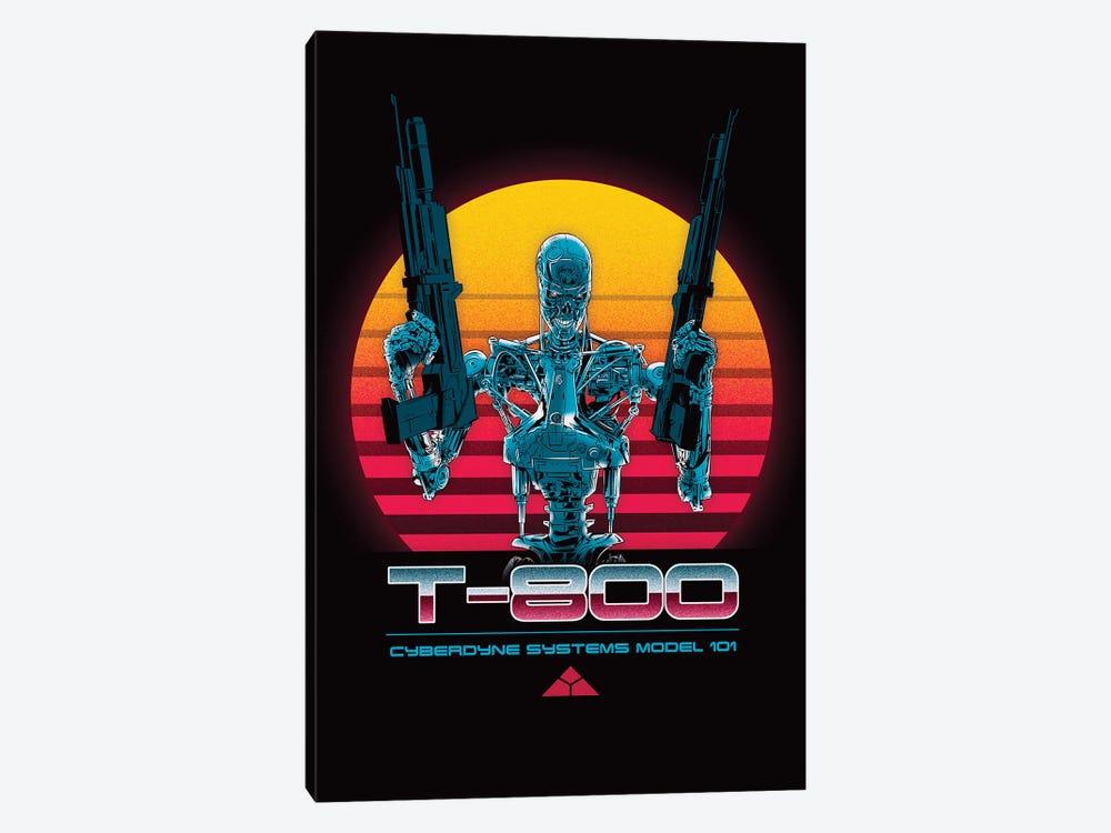 T-800 Series by Denis Orio Ibañez 1-piece Canvas Print