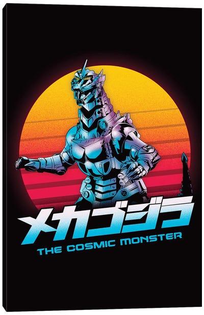 The Cosmic Monster Canvas Art Print