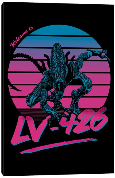Welcome To Lv-426 Canvas Art Print