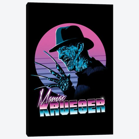 Retro Krueger Canvas Print #DOI219} by Denis Orio Ibañez Canvas Art Print