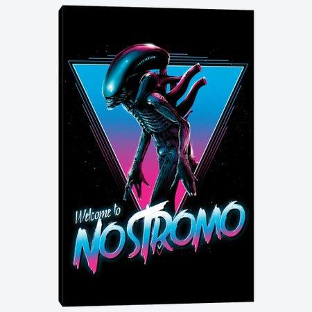 Welcome To Nostromo Canvas Print #DOI21} by Denis Orio Ibañez Canvas Art