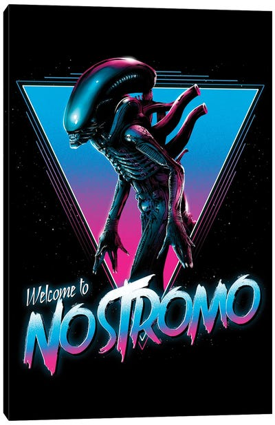 Welcome To Nostromo Canvas Art Print