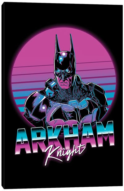 Arkham Knight Canvas Art Print
